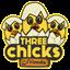 Three Chicks and Friends